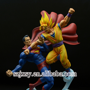 high quality 3d anime cartoon figure resin one piece dragon ball marvel action figures