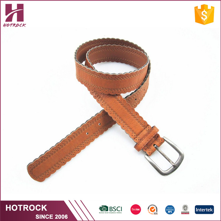 Top grade factory export classic wholesale pu leather belts for women