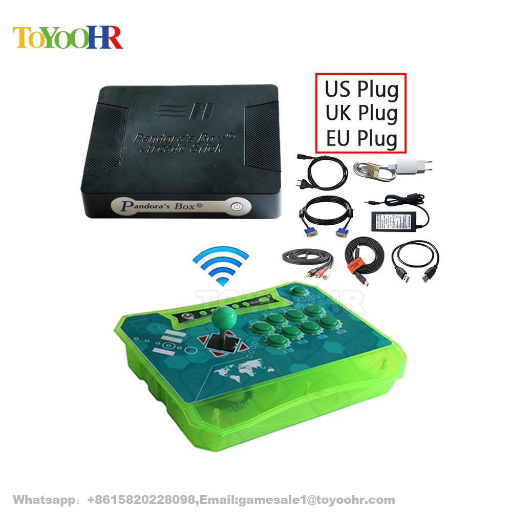 Arcade Controller Wireless Pandora Box 4s Arcade Stick Game Console For Ps3  Xbox360 Pc - Buy Arcade Stick Game Console,Video Game Consoles,Game