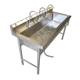 Custom size kitchen 304 stainless steel sink stand work table