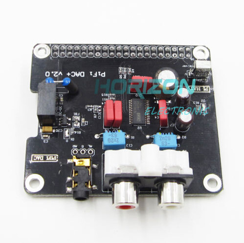 DAC+ HIFI DAC Audio Sound Card Module I2S interface for Raspberry pi 3 2 B B+