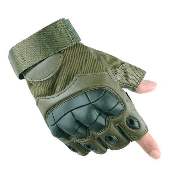Tactical Gloves Half Finger SWAT Military Airsoft Paintball Police Protect Armed