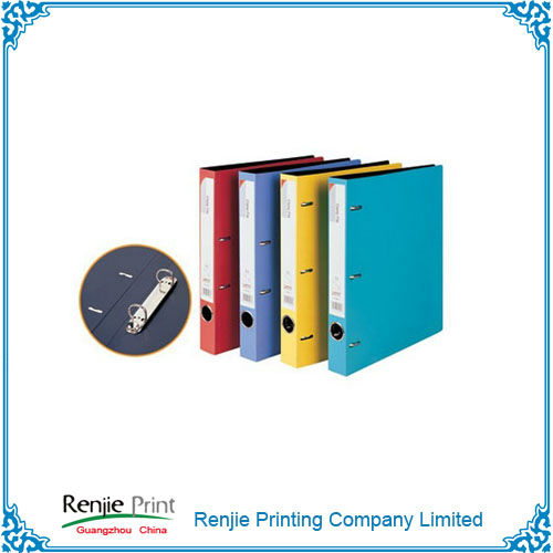 Customized Double Sides Color A4 Size Foam Pp Ring Binder