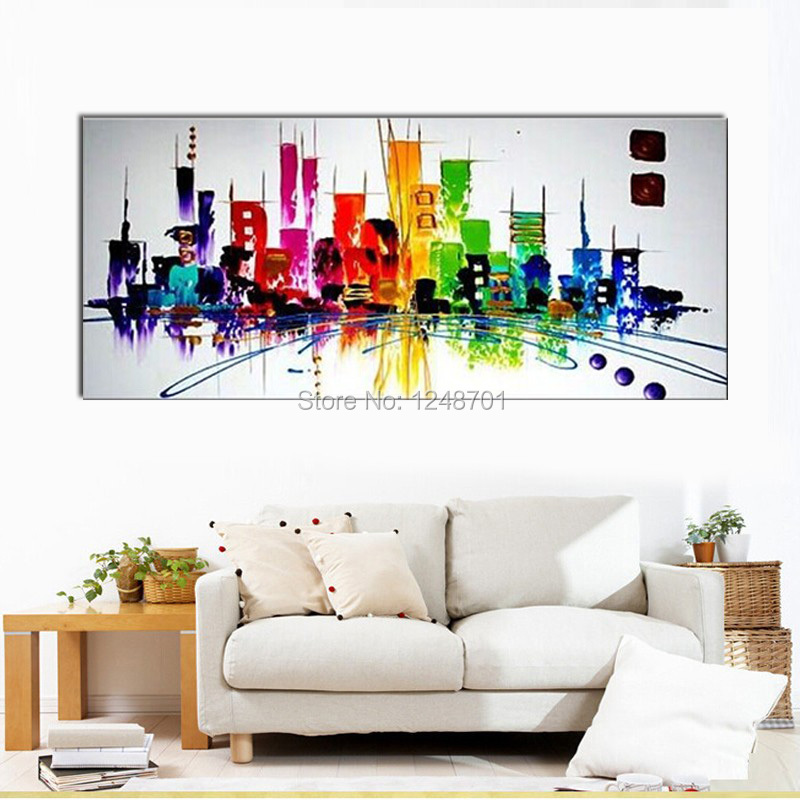 Home Decor Stores New York: Aliexpress.com : Buy Painting On Canvas For New York Oil