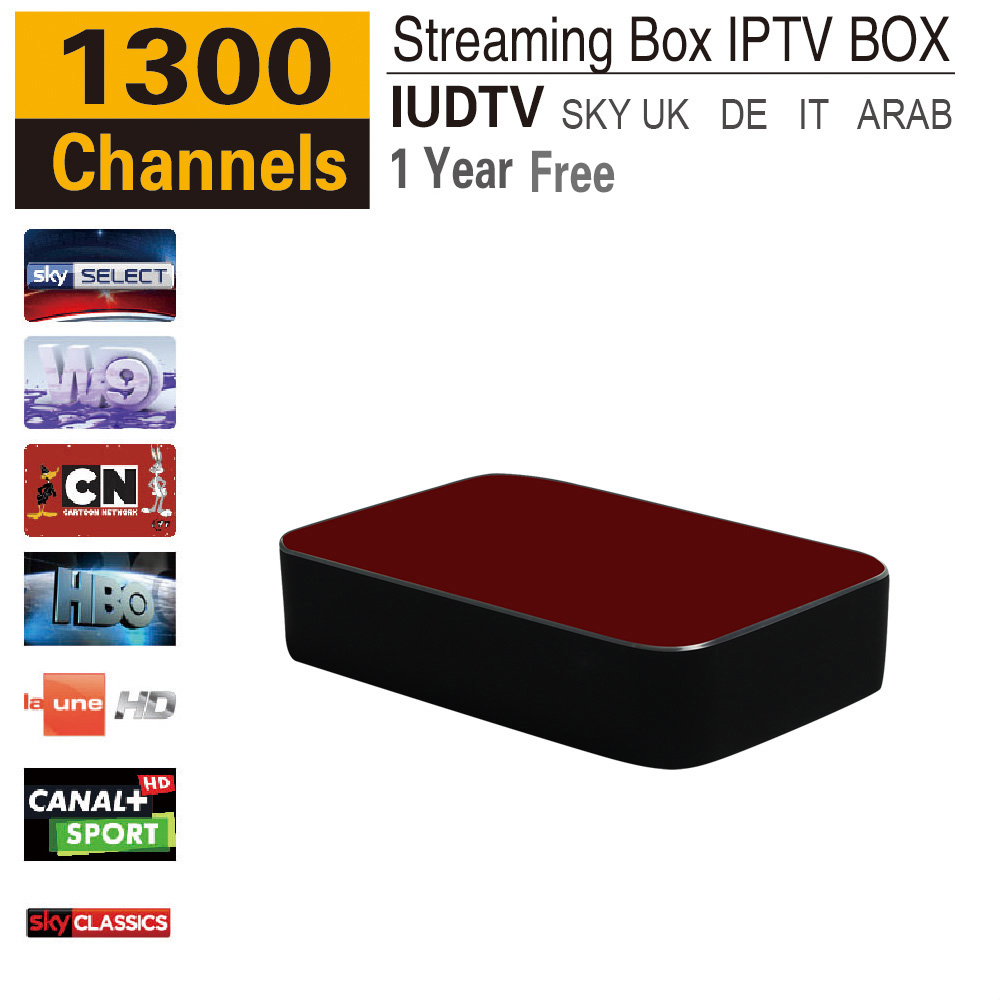12 months Russian IPTV UK Italy Deutch Arabic IPTV Spain USA Streaming Box  Streaming Sever Stalker Middleware Better Mag 254 250 - drone4sky