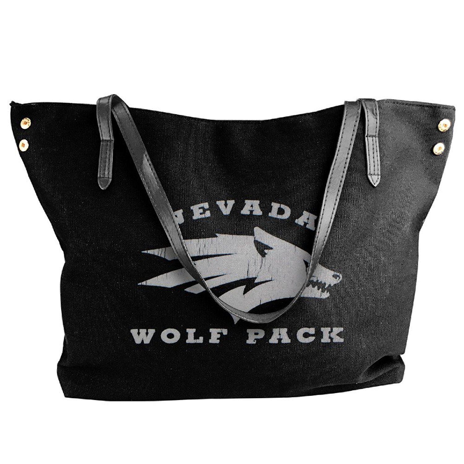 NCAA University Of Nevada Reno Nevada Wolf Pack Logo Handbag Shoulder Bag For Women