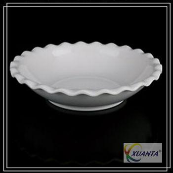 white deep melamine large dinner plates with wave edge  sc 1 st  Alibaba & White Deep Melamine Large Dinner Plates With Wave Edge - Buy Large ...
