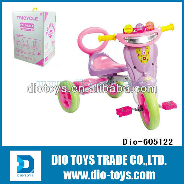 kid tricycle,ride on baby double trike