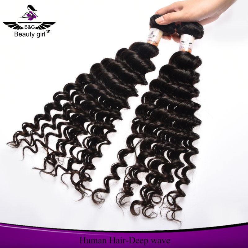 Different types cheap curly human hair weaving deep wave malaysian hair extensions