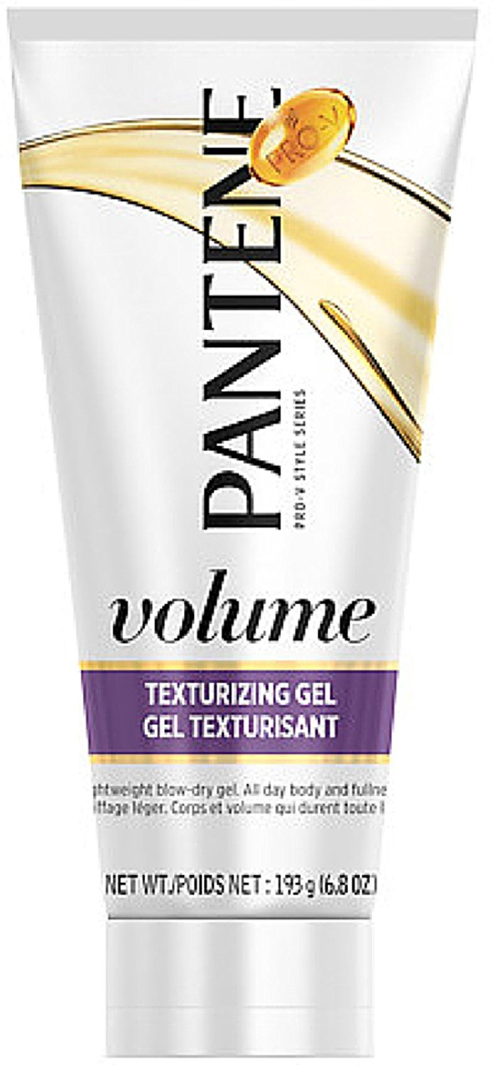 Pantene Pro-V Series, Volume Texturizing Gel 6.8 oz ( Pack of 3)