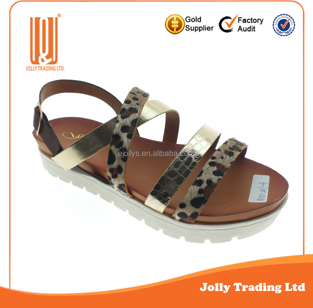 New Stylish Comfortable Ladies Summer Shoes New Design Sandals