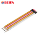 Beifa Brand MA0011 Top Quality China Stationery Glitter Color Wooden Pencil With Earser