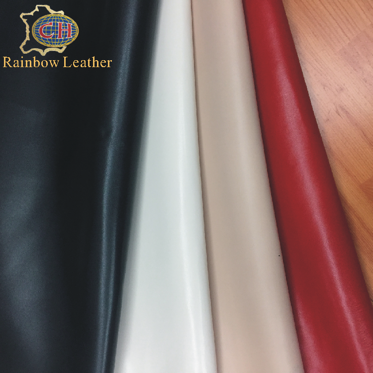 high quality China wholesale sheep lining leather with the best price/finished genuine leather