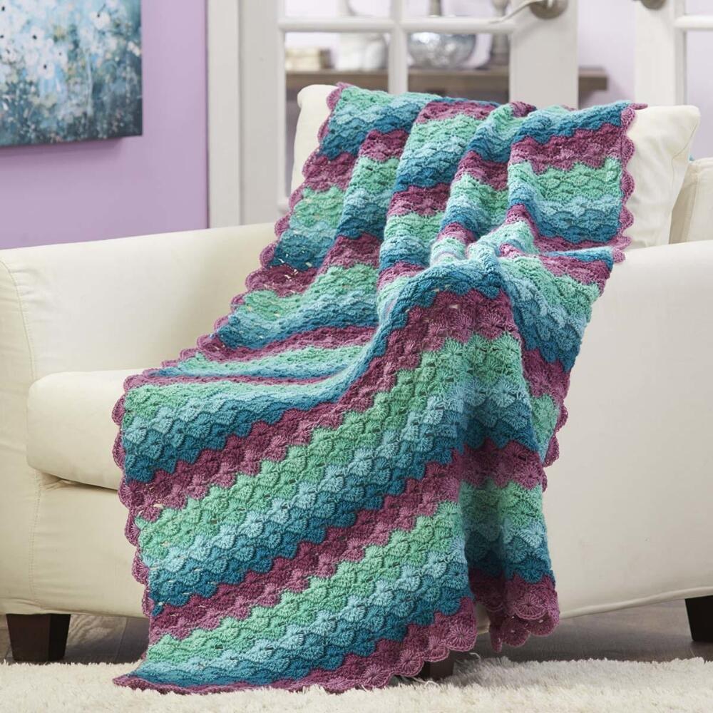 Buy Herrschners Inverness Fair Isle Crochet Afghan Kit In Cheap