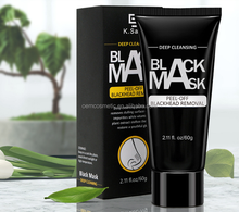 In Stock Peel Off Moisturizing OEM/ODM Nose Pore Cleansing Blackheads Removal Bamboo Charcoal Black Mask free sample