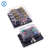 waterproof blade auto automotive fuse holder types blade car fuse holder in fuse 20A 48V