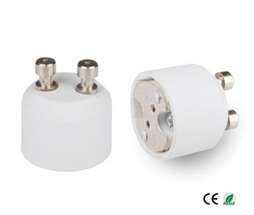 E-Simpo® 15-pack Gu10 to MR16 Adapter,Gu10 to MR16 Lamp Base Converter, Z1076