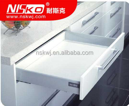 Wholesale BLUM luxury soft closing kitchen drawer, tandem box