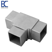 Stainless Steel aluminum square steel tube connector corner connector