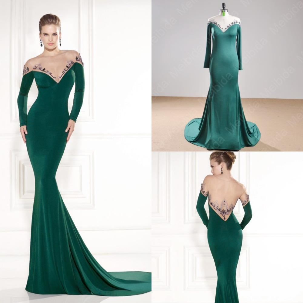 Cheap Emerald Green Mermaid Dress, find Emerald Green Mermaid Dress ...