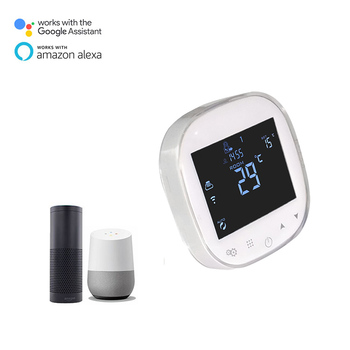 EU WIFI Solar Water Heater Room Digital Programmable Smart Heating Thermostat Alexa Speaker Voice Control Google Home