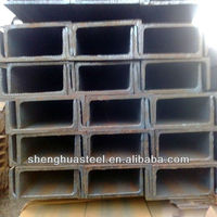 Q235 Galvanized/black U Beam Channels