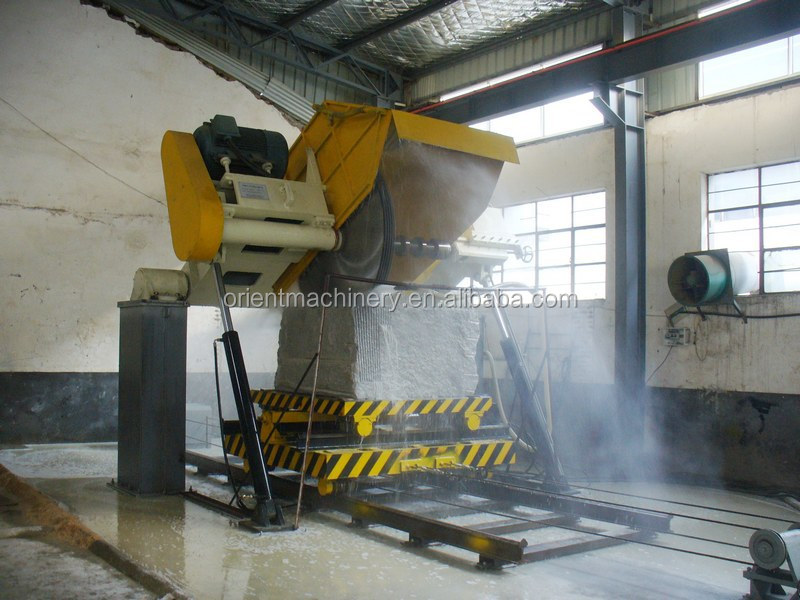 OMC Quarry stone concrete block cutting machine