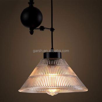 industrial pulley pendant light vintage antique glass industrial pulley pendant light buy