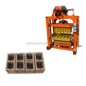 qt4-40 block making machine pakistan/6 inches hollow block making machine/concrete block making machine in botswana