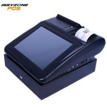 "IZP044 12"" LED Full Flat Capacitive Touch Screen POS All in One SSD 8G 2G RAM"