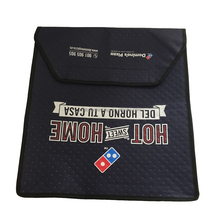 Wholesale custom non woven pizza bag hot pizza cooler bag tote