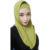 2019 Good quality Korea ice silk Instant Hijab scarf for muslim women