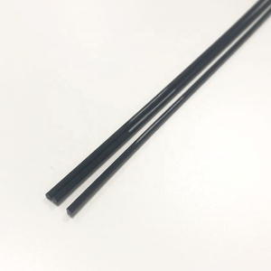 High Wear-resistance Polyoxymethylene solid plastic rod pom rods black 2mm