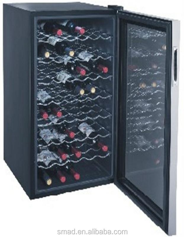 vente chaude horizontale portable lectrique compresseur refroidisseur de vin d 39 affichage cave. Black Bedroom Furniture Sets. Home Design Ideas