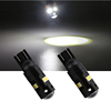 Plug and play super bright 3030 8smd dashboard indicator light w5w T10 car interior led mirror light