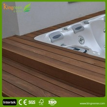 eco friendly 2015 new product in China wpc plastic deck cover wpc interlocking decking tiles for pallet deck board