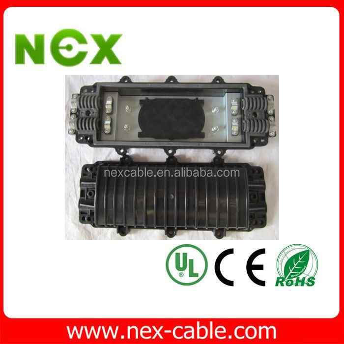 optical fiber cable joint closure / fiber optic junction box