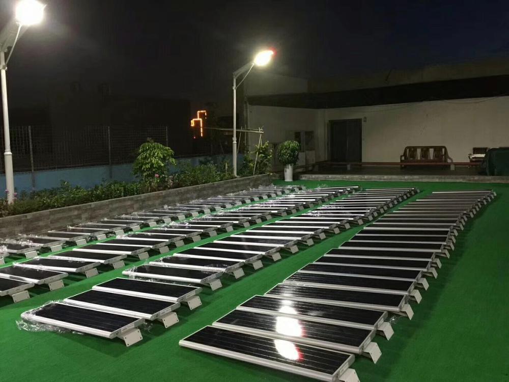 Zona esterna giardino sistemi integrati w pannello solare