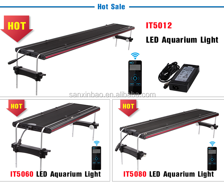 2016 Evergrow IT5080 32 ''led licht aquarium high power led aquarium licht