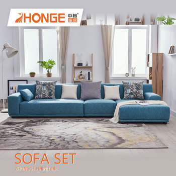 Fantastic Home Living Tv Room Modern Bright Blue Colourful Nordic Fabric Corner Couch L Shaped Sofa Set Buy Tv Room Fabric Corner Sofa Tv Room Fabric Download Free Architecture Designs Scobabritishbridgeorg