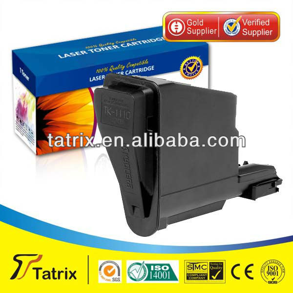 TK 1112 color toner cartridge compatible kyocera TK 1112, Tatrix toner cartridge 24 months gurantee