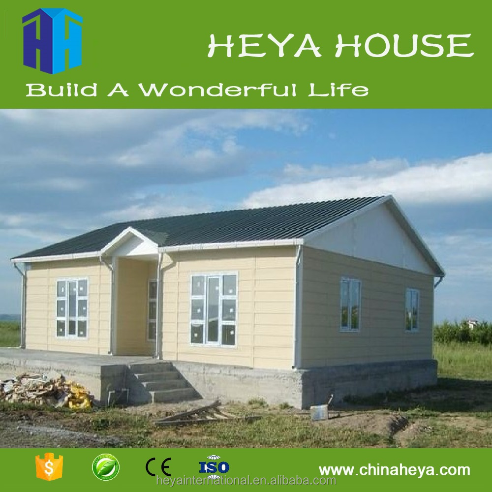 Low Cost Install Convenient Long Lifespan Small Prefab House Design ...