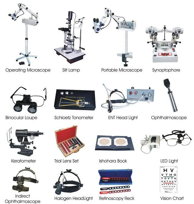optometry equipment supplier