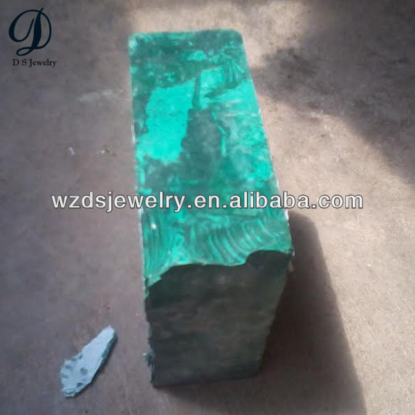 Factory price synthetic rough turquoise stone material
