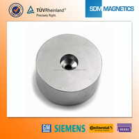 Neodymium Magnet High Quality Round Base Magnet with Countersunk Hole