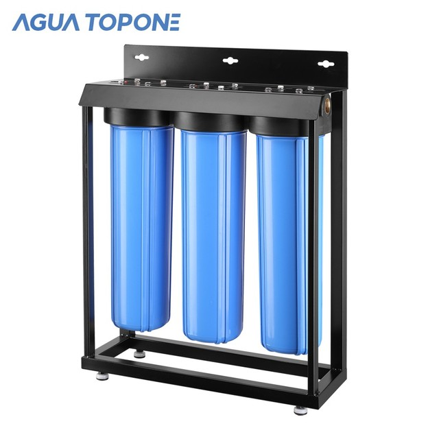 3 stages PP Sediment GAC CTO cartridge water filter for rain water