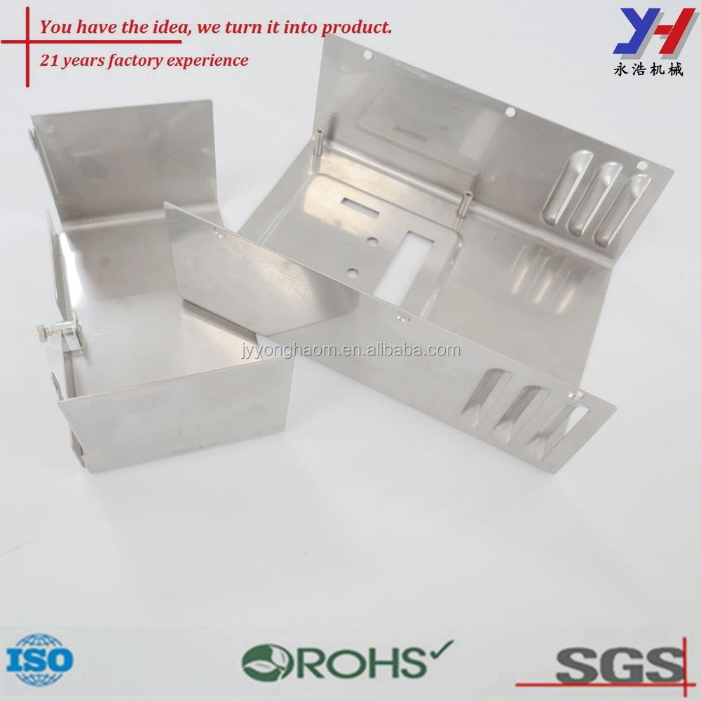 Stainless steel riveted ventilation stamping appliance cover