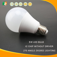 Factory direc cheap price plastic with aluminum led bulb,high lumens e27 b22 led bulb lamp housing, hot 3w-12w led bulb e27
