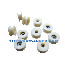 Client custom new type plastic nylon timing pulleys with bearing