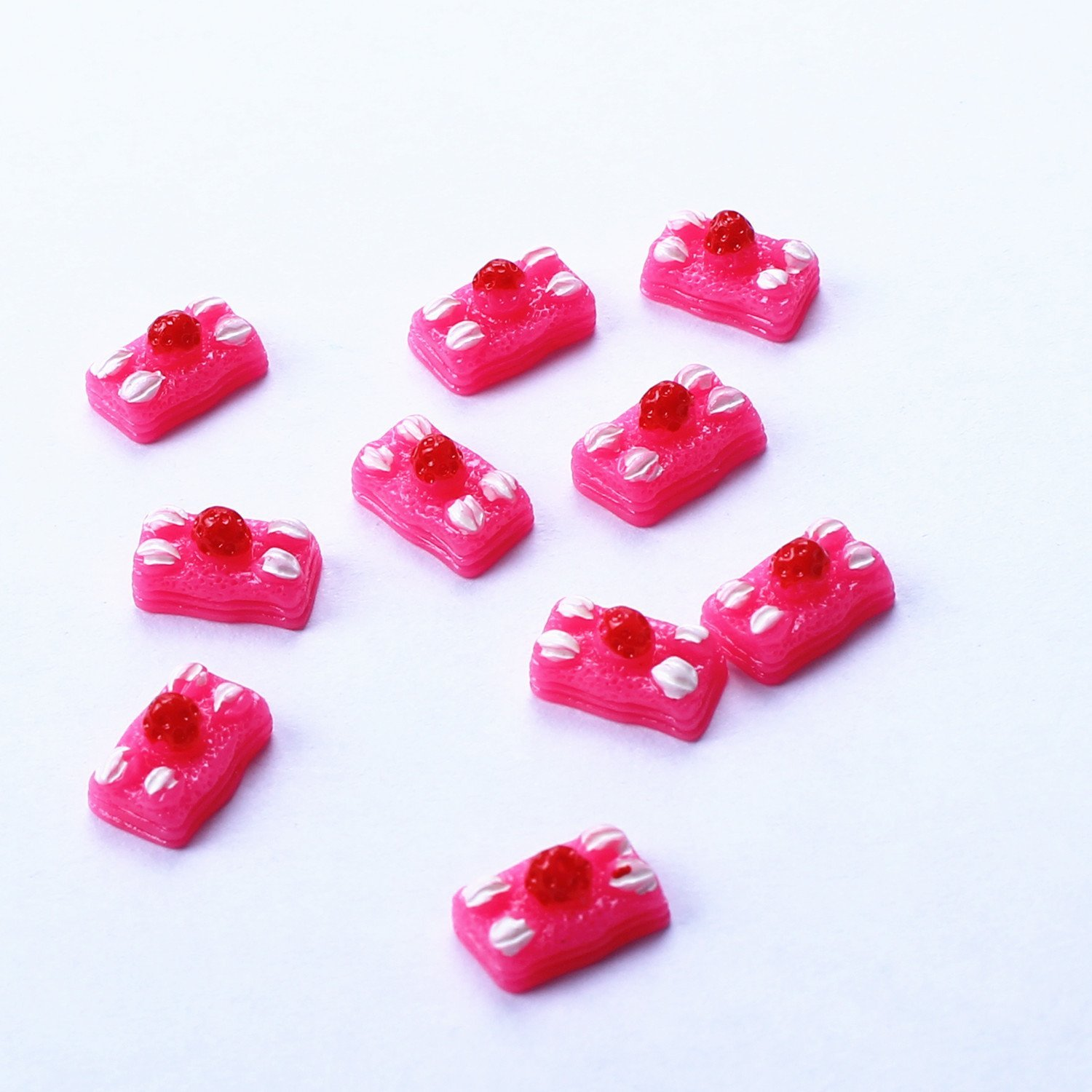 Buy Best sale !Lovely Nail decor Cup cake design 3d nail art ...
